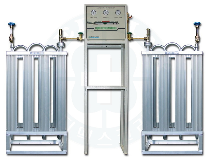 Liquid Oxygen Gas Manifold System Medimaxkorea Co Ltd