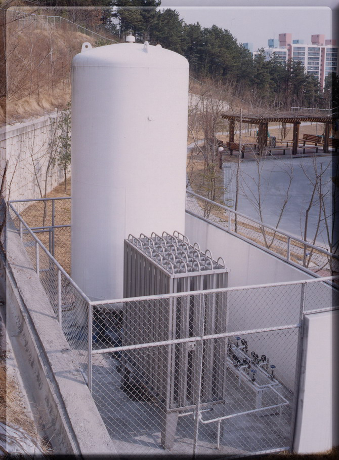 Liquid Oxygen Storage Tank Medimaxkorea Co Ltd